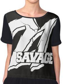 21 Savage B Chiffon Top