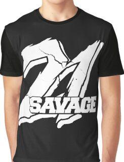 21 Savage B Graphic T-Shirt