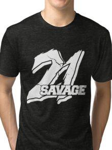 21 Savage B Tri-blend T-Shirt