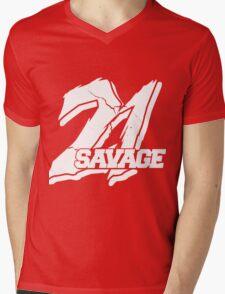 21 Savage B Mens V-Neck T-Shirt