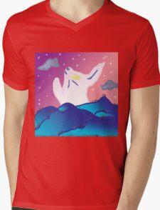 Funnights Mens V-Neck T-Shirt