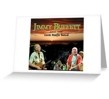 SAN03 Jimmy Buffett and the Coral Reefer Band TOUR 2016 Greeting Card