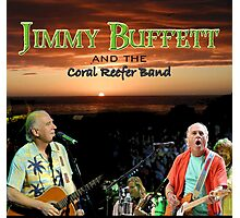 SAN03 Jimmy Buffett and the Coral Reefer Band TOUR 2016 Photographic Print