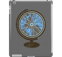 Global Cyclist (blue) iPad Case/Skin