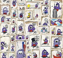 Bert Collage by Richard Yeomans
