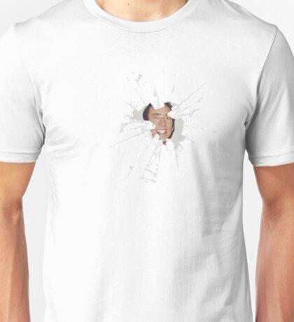Nicolas Cage Cracked Rape Face Unisex T-Shirt