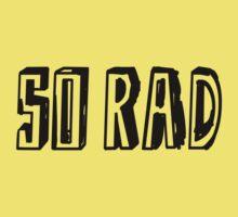 RAD. SO RAD. One Piece - Short Sleeve