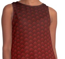 Dragon Scale (Red) Contrast Tank