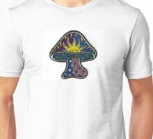 mushroom sun snd stars Unisex T-Shirt