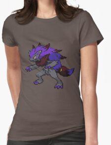 Shiny Zoroark Sprite Womens Fitted T-Shirt