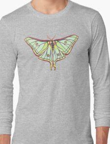 Green Moth Long Sleeve T-Shirt