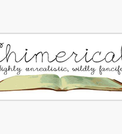 Chimerical || Spelling Bee Sticker