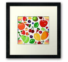 Fruit Salad Framed Print