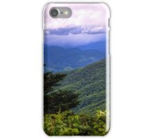 Yellow Face Overlook - Blue Ridge Parkway iPhone Case/Skin