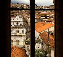 Framed Cuenca by Al Bourassa