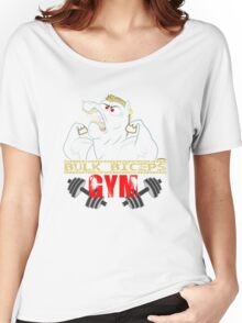 Bulk Biceps Gym Women's Relaxed Fit T-Shirt