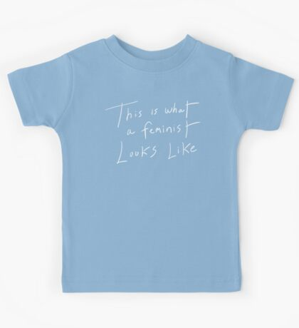 This Is What A Feminist Looks Like Kids Tee