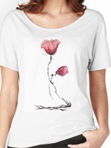 Poppy Women's Relaxed Fit T-Shirt