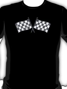 Two checkered racing  flags T-Shirt
