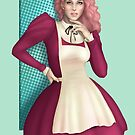 Pretty Pink Pinup by CatAstrophe