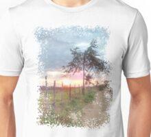 Sunrise Landscape Prairie Unisex T-Shirt
