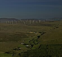 Wind Farms on Inishowen Peninsula by George Row