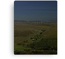 Wind Farms on Inishowen Peninsula Canvas Print