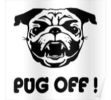 Pug Off! Poster