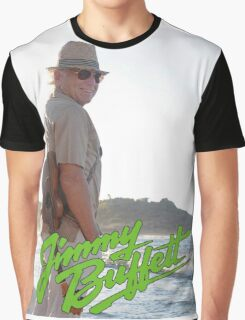 SAN04 Jimmy Buffett and the Coral Reefer Band TOUR 2016 Graphic T-Shirt