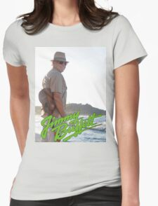 SAN04 Jimmy Buffett and the Coral Reefer Band TOUR 2016 Womens Fitted T-Shirt