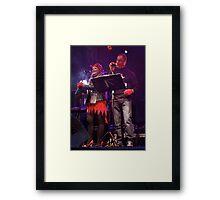 Live Music  - Haloween 2012, Derry  Framed Print