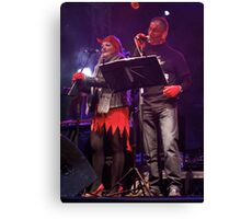 Live Music  - Haloween 2012, Derry  Canvas Print