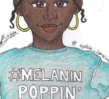 #MelaninPoppin Sticker