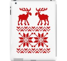 Moose Pattern Christmas Sweater iPad Case/Skin