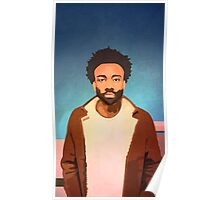 childish gambino - the rappers Poster