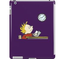 clock stand by  iPad Case/Skin
