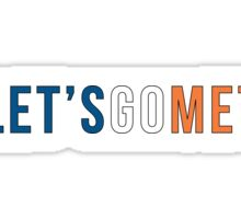 Let's Go Mets  Sticker