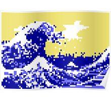 Pixel Tsunami Poster