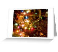 Sparkle and Shine for Christmas Greeting Card