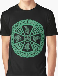 Celtic Nature Graphic T-Shirt