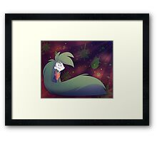 Alistair from Never Normal Framed Print