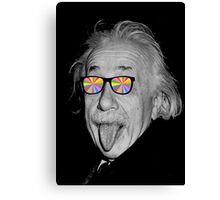 color make me happy make me smart Canvas Print