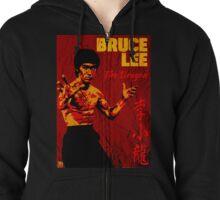 Bruce Lee Zipped Hoodie