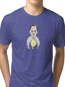 Steve Buscemi, but like, in a banana Tri-blend T-Shirt