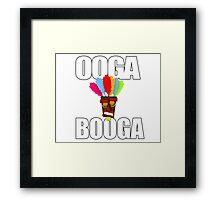 OOGA BOOGA Framed Print