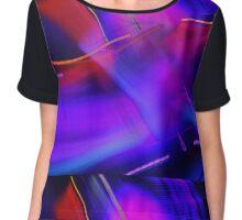 abstract 563 Chiffon Top