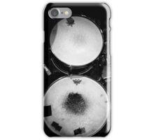Battered Retro Drums iPhone Case/Skin
