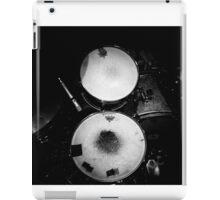 Battered Retro Drums iPad Case/Skin