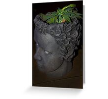 Think Green Greeting Card