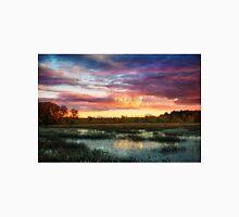 Ipswich river sunset Unisex T-Shirt